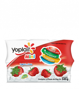 Multipack Yoplait Mini Batido Fresa