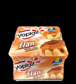 Flan Gelificado Vainilla Multipack